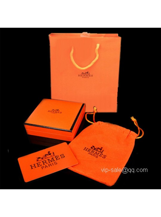 Hermes jewelry packagings set for card and bags