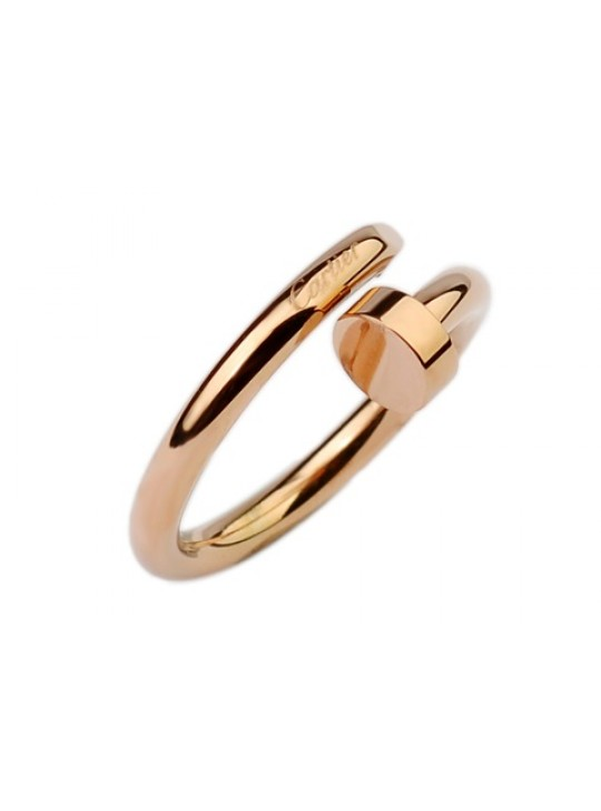 Cartier Juste un clou Ring in pink gold