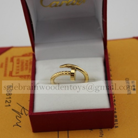 Replica Fake Cartier Juste Un Clou Ring Yellow Gold Online Sale