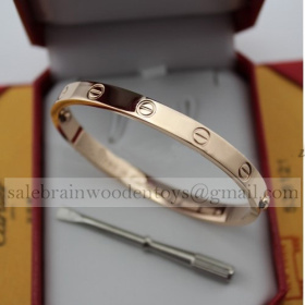 High Quality Cartier Love Bracelet Pink Gold stainless steel