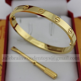 Replica Replica Cartier Love Bracelet Yellow Gold 5th for sale