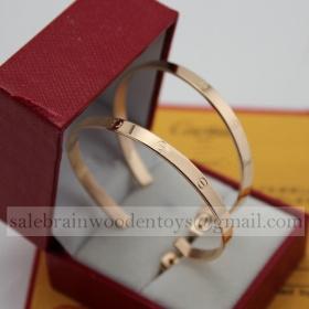 Replica Replica Cartier Love Earrings Pink Gold Online Sale
