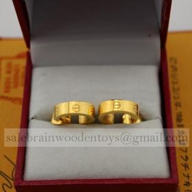 Replica Cartier Love Earrings Imitation Yellow Gold B8028800