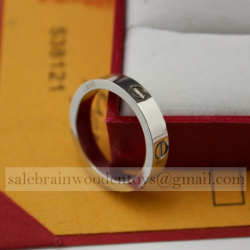Replica where to purchase Cartier Love Ring Wedding Band White Gold