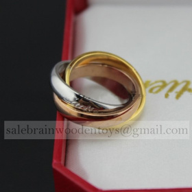 Replica Replica Cartier Trinity Ring with 3-Gold stainless steel