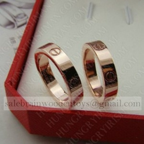 Replica Promo Cartier love wedding band 18K pink gold Replica