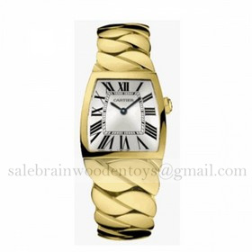 Replica Copy Cartier La Dona 18K Yellow Gold Ladies Watches
