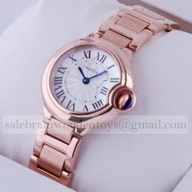 Replica Discount Cartier Ballon Bleu 18kt Pink Gold Small Ladies Watches