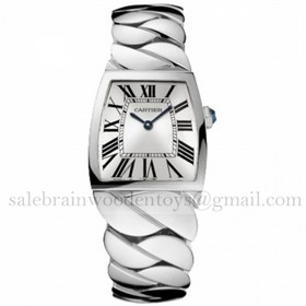Replica Imitation Cartier La Dona Ladies Gold Watches