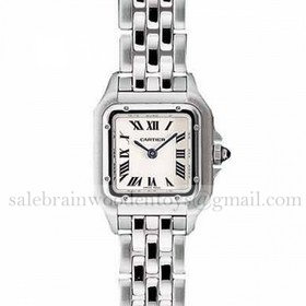 Replica Knock off Cartier Panthere Stainless Steel Ladies Watches