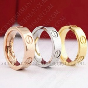 Replica Cartier love wedding band 18K ,(Optional:white gold/Yellow Gold,/rose gold)
