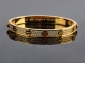 Cartier Love Bracelet Fake, 18k Yellow Gold With Paved Diamonds
