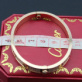 Replica Replica Cartier Love Bracelet Paved Diamonds Pink Gold stainless steel 5th