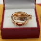 Replica Cartier Love Ring Replica Pink Gold Diamonds Cheap Sale