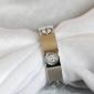 Replica Replica Cartier love wedding band 18K white gold one diamond