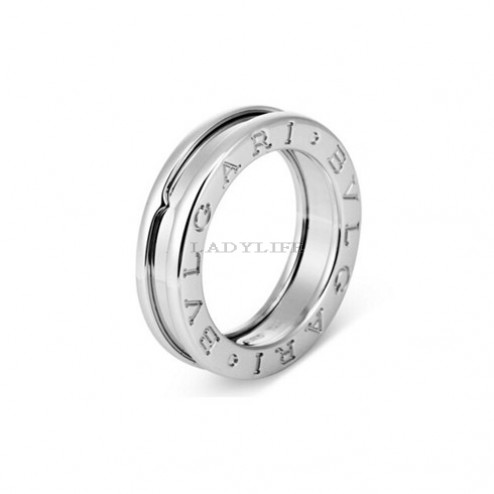 Bvlgari B.ZERO1 ring white gold 1 band ring AN852423 replica
