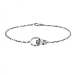 cartier love plated real 18k white gold bracelet replica