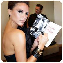 Victoria Beckham Wearing Hermes Collier De Chien Bracelet