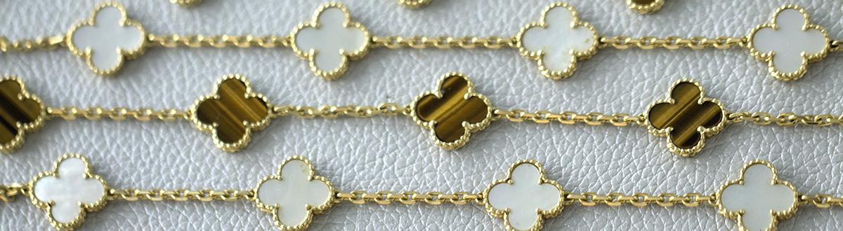 Van cleef and arpels alhambra earrings replica
