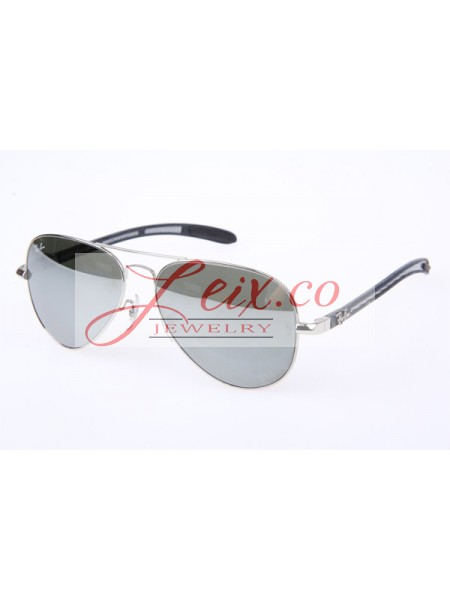 c223e0ed094 Discount Ray Ban RB8307 Aviator Tech Sunglasses in Silver Mirror Lens 003 40