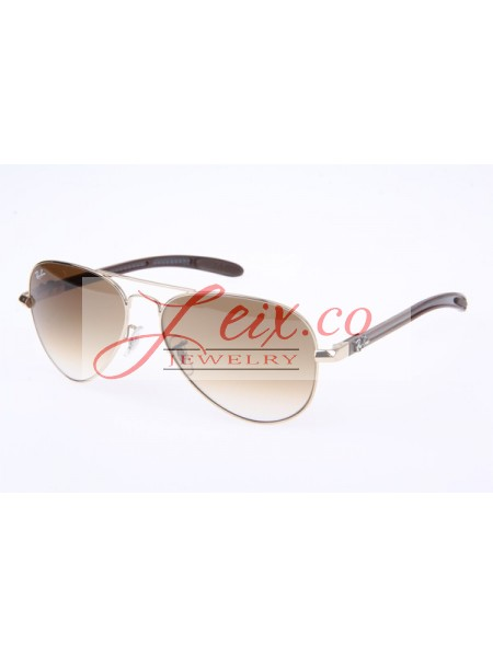 57daf5d8d2 Ray Ban RB8307 Sunglasses Carbon Fiber in Gold Brown Gradient 001 51