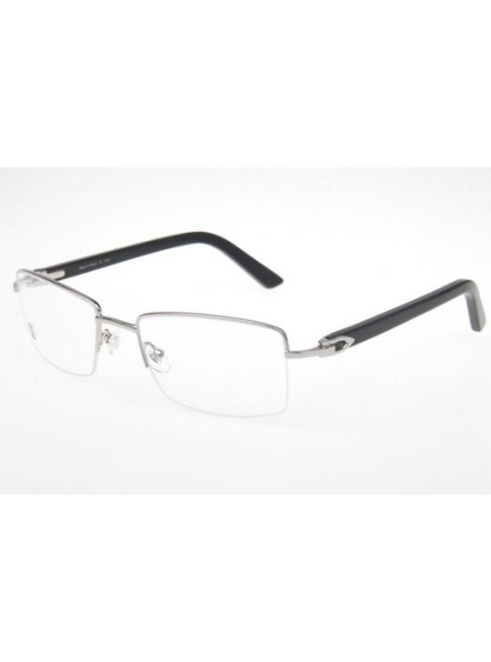 bb852fb3955b Cartier 5953186 Eyeglasses In Silver ...