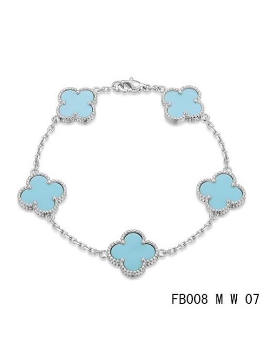 Silver Van Cleef Arpels Bracelet Replica Van Cleef Arpels