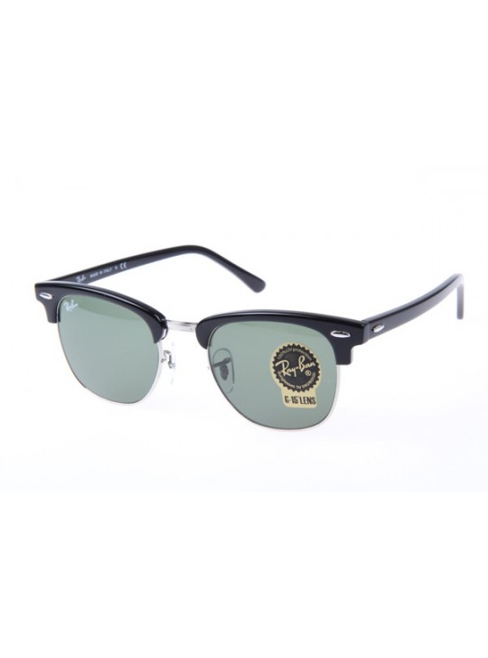 59294b7bf7a Ray Ban RB3016 Sunglasses In Black Silver ...