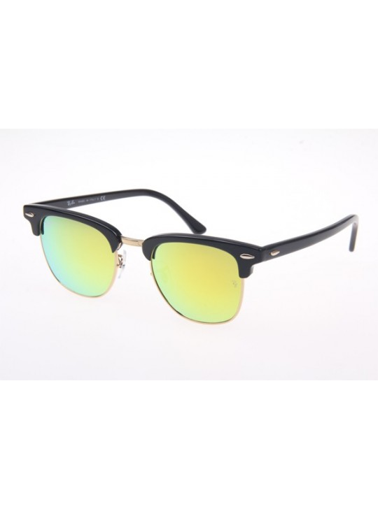 a7f1deff07 ... australia ray ban rb3016 sunglasses in black yellow lens 901 18 2e8d4  5ec51