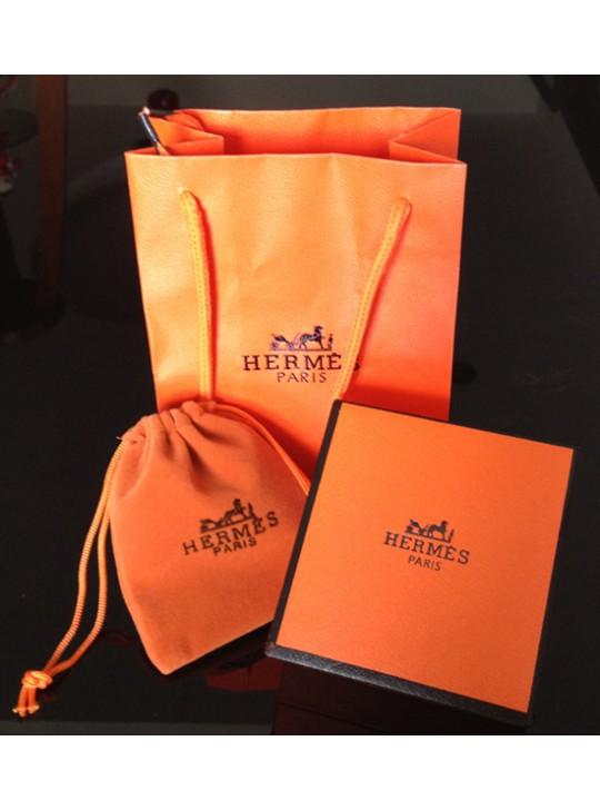 Hermes Jewelry Box Ping Bag Velvet Replica