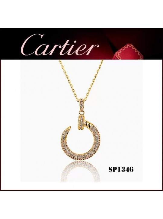 Cartier Juste un Clou Pendant in Yellow Gold with Diamonds