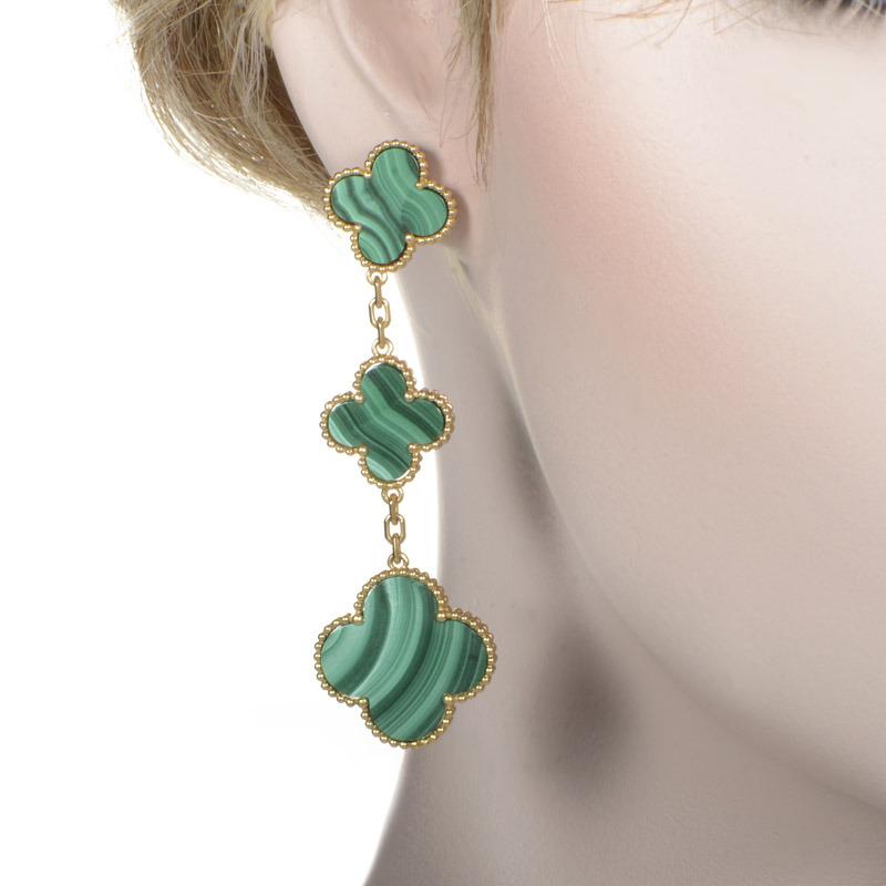 Van cleef alhambra earrings price