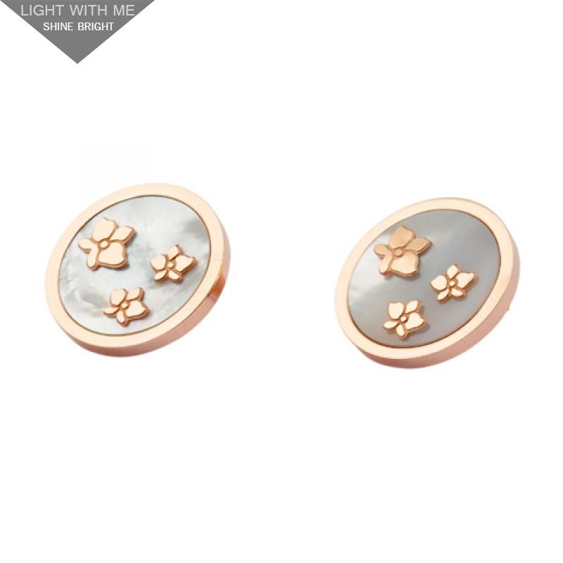 11d372d54ef0d replica cartier caresse d'orchidees earrings 18kt pink gold grey ...