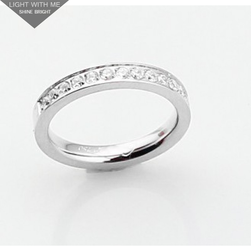 cartier wedding band ring in platinum set with diamondsrefb4071400 - Cartier Wedding Ring