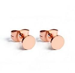 Cartier Fastener Stud Earrings in 18kt Pink Gold