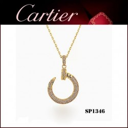 Juste un Clou Pendant in Yellow Gold with Diamonds