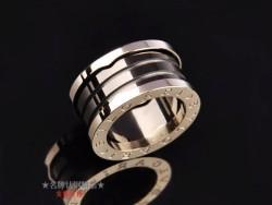 Bvlgari B.ZERO1 3-Band Ring in 18kt Pink Gold with Black Ceramic