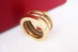 Bvlgari B.ZERO1 3-Band Ring in 18kt Yellow Gold