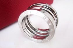 Bvlgari B.ZERO1 4-Band Ring in 18kt White Gold