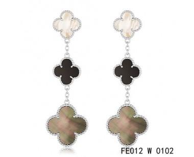 Van cleef and arpels earrings replica
