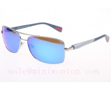 958a8ca12c11 new zealand prada sps50os sunglasses in gold blue lens a430c fcf23