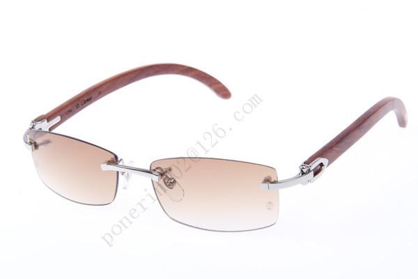 b447076be6 2016 Cartier 3524012 Wood Sunglasses
