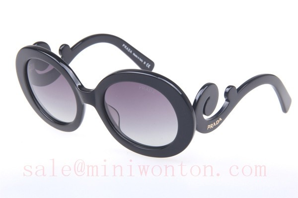 a1bb358b596 ... italy prada spr27ns sunglasses in black f5a99 19abb free shipping low  price faux ...