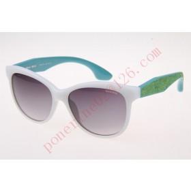 2016 Cheap Miu Miu SMU10PS Sunglasses, White Green