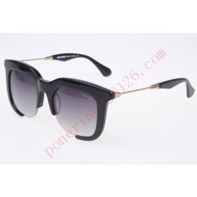 2016 Cheap Miu Miu SMU11NS Sunglasses, Black Gold
