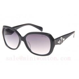Prada SPRDA1 Sunglasses In Black White