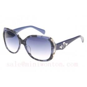 Prada SPRDA1 Sunglasses In Blue Tortoise