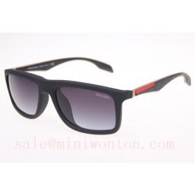 Prada SPS02P Sunglasses In Matte Black