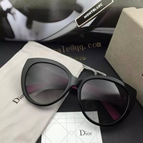 MY Dior Lady Sunglasses in black and red Frame