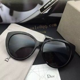 MY Dior Lady Sunglasses in white and bule frame
